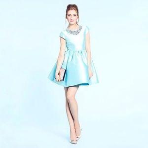 Kate Spade Blue Quinlan Cocktail Dress